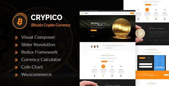 Crypico v1.3 — Crypto Currency WordPress Theme