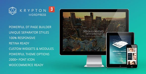 Krypton v3.0.4 — Responsive Multipurpose Theme
