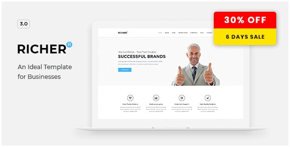 Richer v3.2.5 — Responsive Multi-Purpose Theme