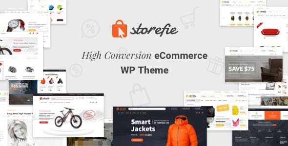 Storefie v1.2.2 — High Conversion eCommerce WordPress Theme