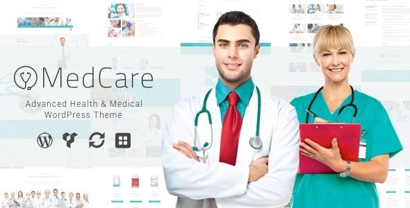 MedCare v1.0.3 — Advanced Health & Medical WordPress Theme