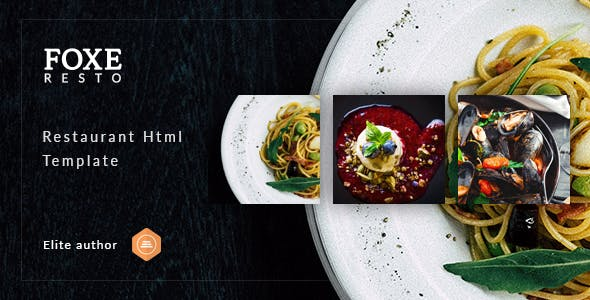 Foxeresto v1.0 — Restaurant HTML Template
