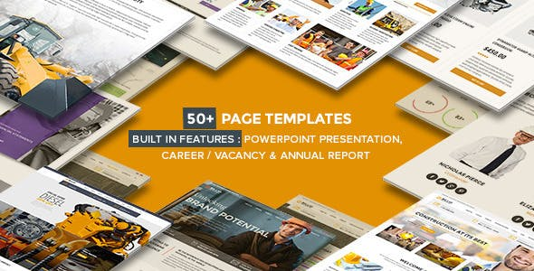 Billio v1.3 — Multipurpose Company WordPress Theme