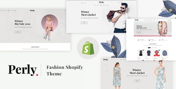 Perly v1.0 — Fashion Shopify Theme