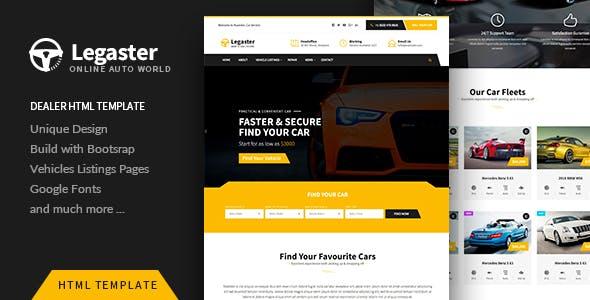 Legaster — Automotive HTML Template