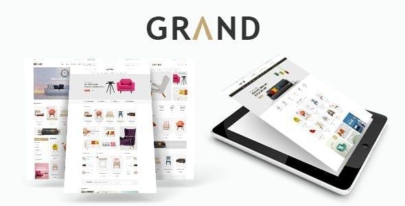 Grand v1.1.1 — Responsive Furniture WooCommerce Theme