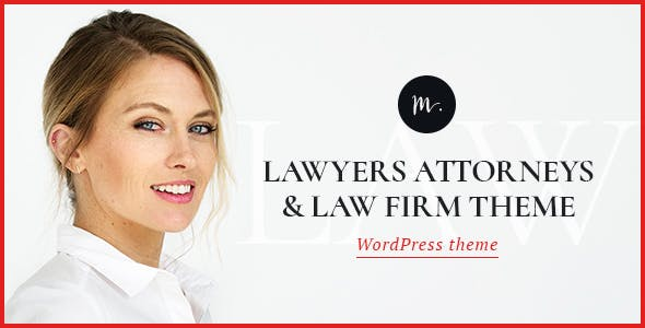 M.Williamson v1.2 — Lawyer & Legal Adviser Theme