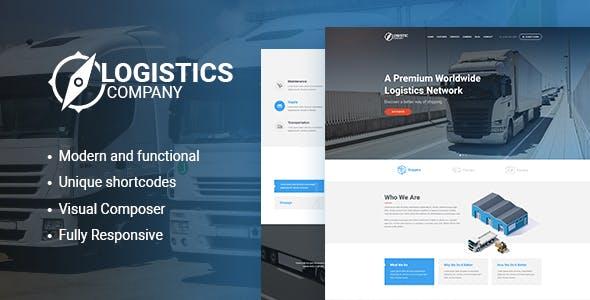 Logistics, Transportation, Warehousing WordPress Theme v1.3