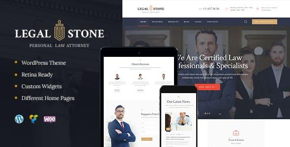 Legal Stone v1.2 — Lawyers & Attorneys WordPress Theme