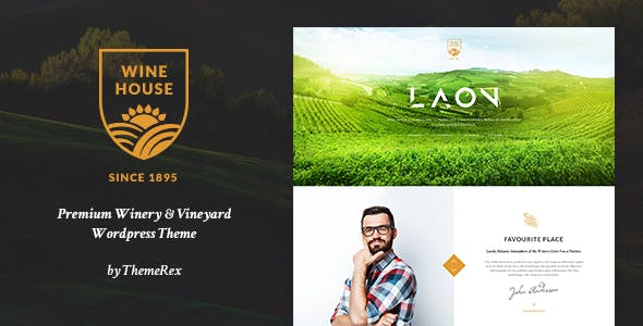 Laon v1.7.0 — Wine House, Winery & Wine Shop WordPress Theme