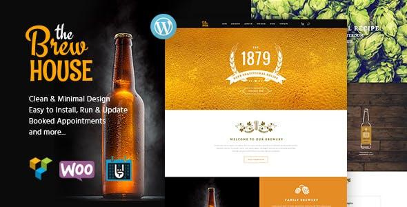 The Brew House v1.5 — Brewery / Pub / Restaurant WordPress Theme