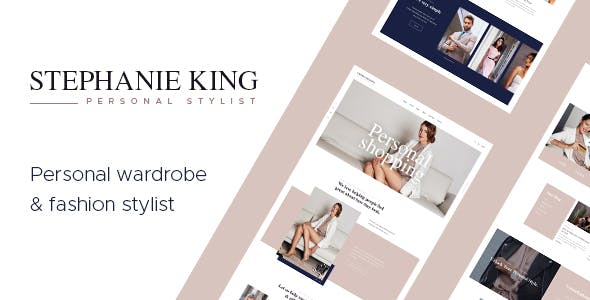 S.King v1.1 — Personal Stylist and Fashion Blogger