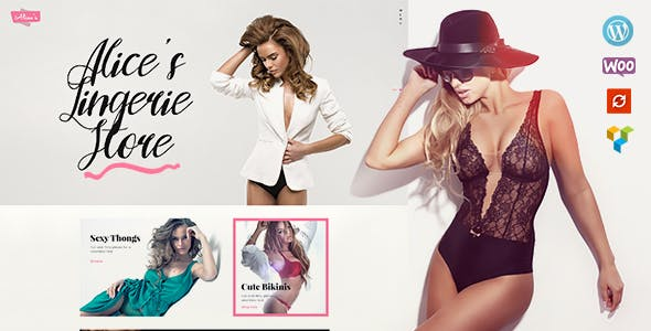 Alice's v1.3.3 — Lingerie Store and Fashion Boutique WordPress Theme