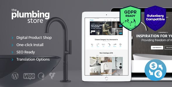 Plumbing and Building Parts v1.6 — Tools & Accessories Store WordPress Theme