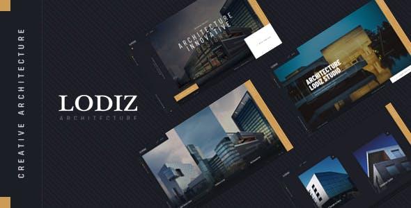 Lodiz v1.0 — Creative Architecture PSD Template