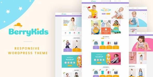 BerryKid v1.3 — Baby Store WooCommerce WordPress Theme
