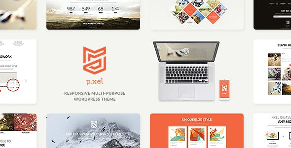 Pixel v1.2 — A Modern Multi-Purpose WordPress Theme