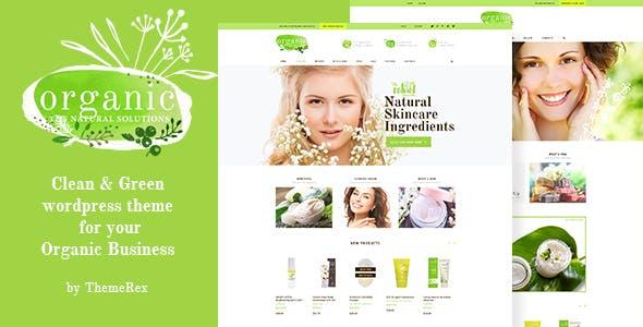 Organic Beauty v1.4 — Store & Natural Cosmetics WordPress Theme