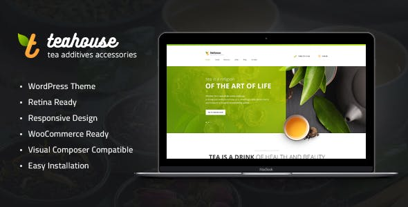 Tea House v1.1 — Tea Store and Cafe WordPress Theme