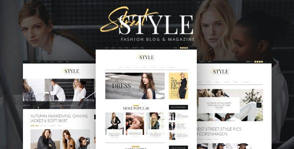Street Style v1.5.3 — Fashion & Lifestyle Personal Blog WordPress Theme