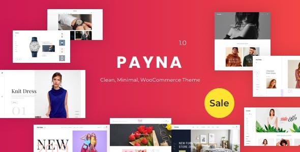 Payna v1.0.2 — Clean, Minimal WooCommerce Theme