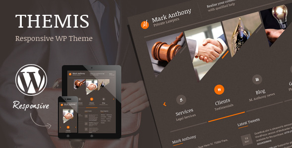 Themis v4.3 — Law Lawyer Business WordPress Theme