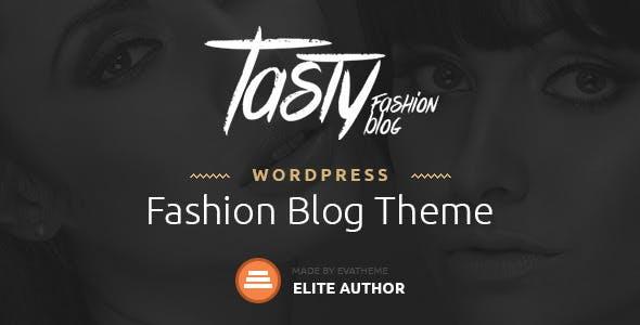 Tasty v1.1 — Responsive Blog WordPress Theme