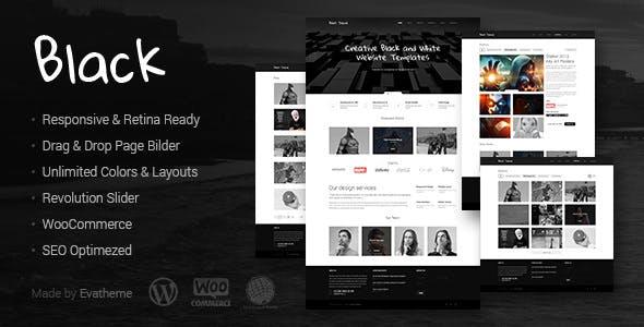Black v1.5- Premium Multi-Purpose WordPress Theme