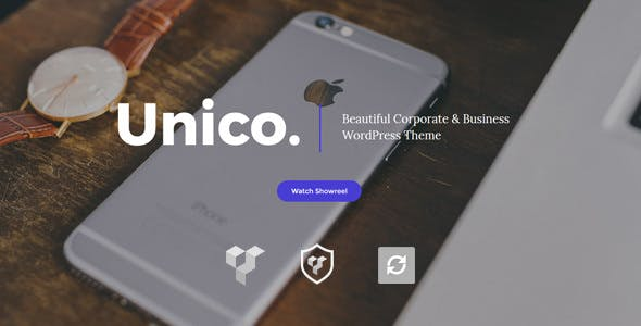 Unico v1.0 — Creative & Business WordPress Theme