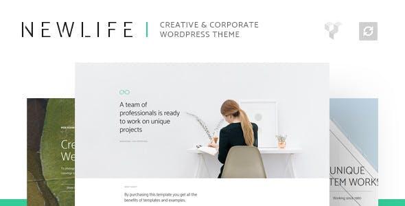 Newlife v1.1 — Creative & Corporate WordPress Theme