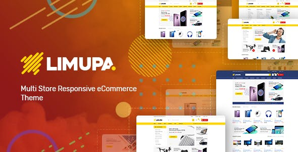 Limupa v1.0 — Digital, Electronics & Technology Shopify Theme