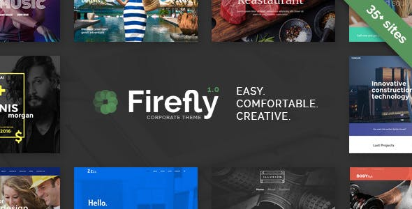 Firefly v1.1 — Responsive Multi-Purpose WordPress Theme