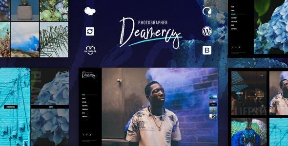 Deamercy v1.0 — Photography Portfolio WordPress Theme