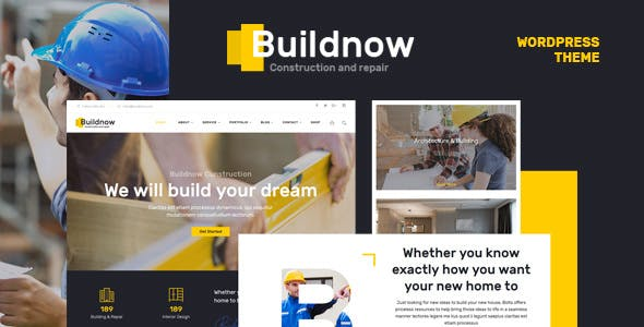 Buildnow v1.1 — Construction & Building WordPress Theme