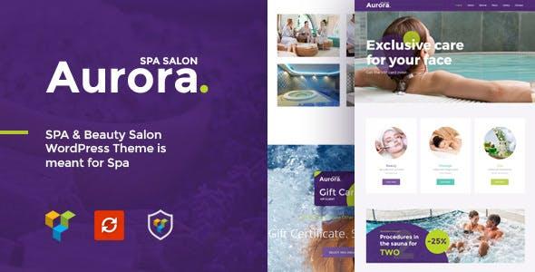 Aurora v1.0 — Spa & Beauty Salon WordPress Theme