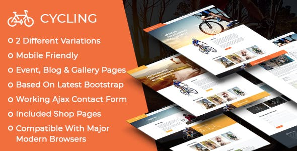 Cycling v1.0.1 — Multipurpose Responsive HTML Template
