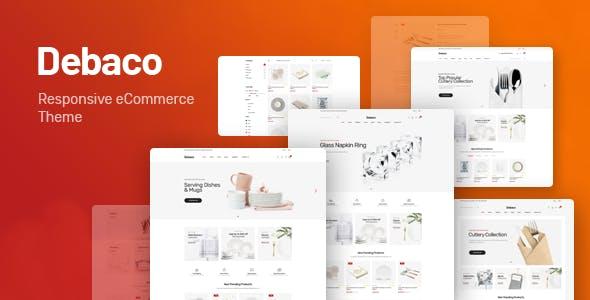 Debaco v1.0 — Kitchen appliances for WooCommerce WordPress