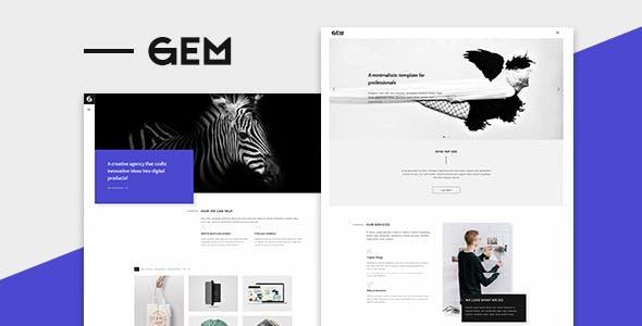 Gems v1.0 — A Multi-Purpose WordPress Theme