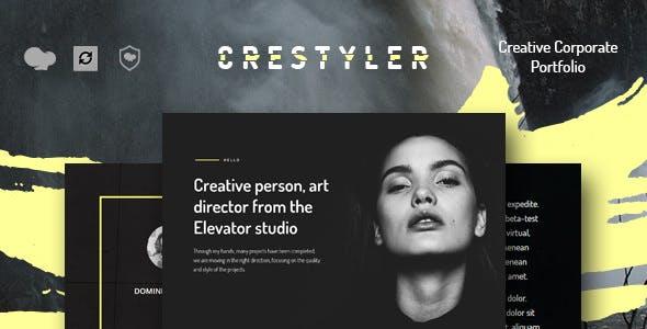 Crestyler v1.0 — Creative Portfolio WordPress Theme