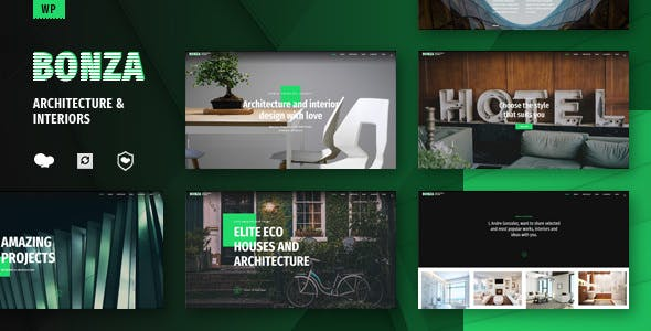 Bonza v1.1 — Architecture & Interior WordPress Theme