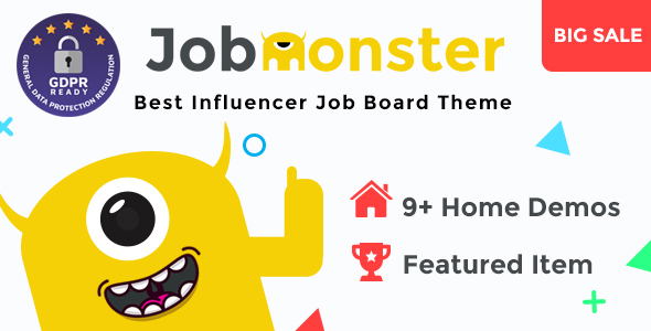 Jobmonster v4.5.2.5 — Job Board WordPress Theme