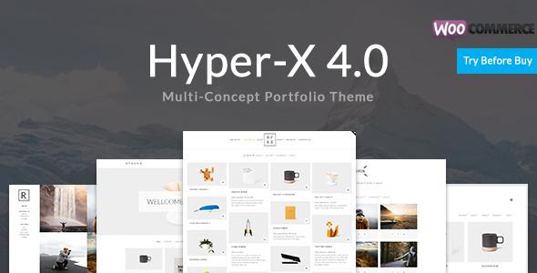 HyperX v4.8.3 — Portfolio for Freelancers & Agencies