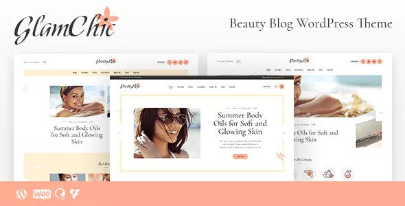 GlamChic v1.0.1 — Beauty Blog & Online Magazine Theme