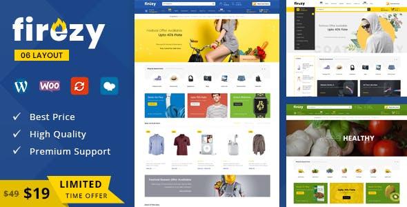 Firezy v1.0 — Multipurpose WooCommerce Theme
