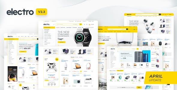 Electro v2.3.1 — Electronics Store WooCommerce Theme