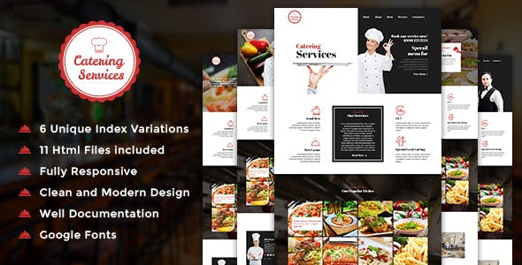 Catering v1.0 — Chef and Food Restaurant Template