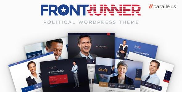 FrontRunner v1.0.23 — Political WordPress Theme