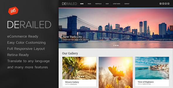 DeRailed v2.6 — Photography & Portfolio Theme