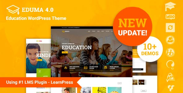 Education WP v4.0.2 — Education WordPress Theme