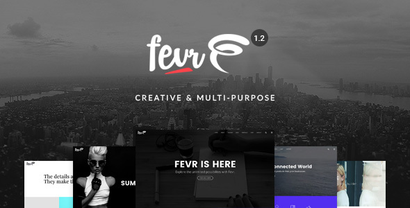 Fevr v1.2.9.7 — Creative MultiPurpose Theme